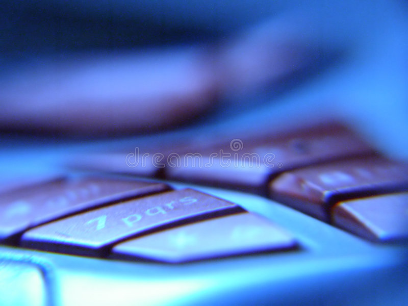 Botones móviles fotografía de archivo