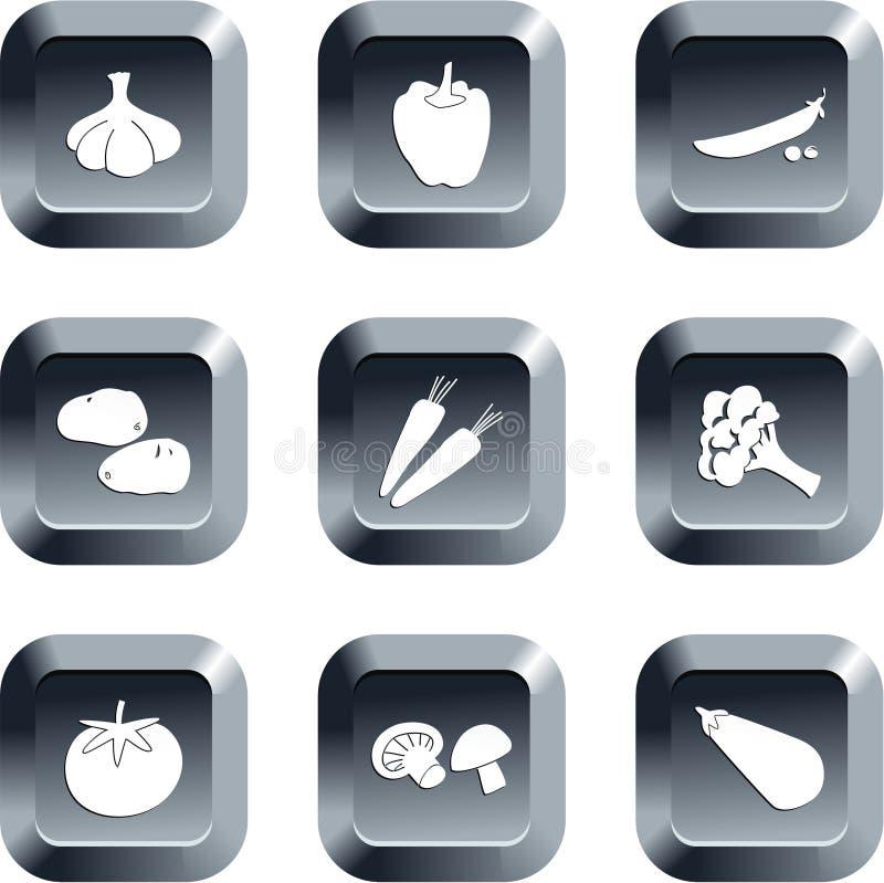 Botones vegetales libre illustration