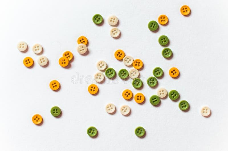 Botones verdes imagen de archivo