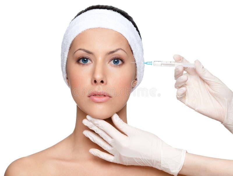 Botox注视更正 免版税图库摄影
