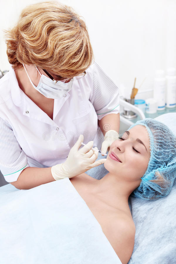 Botox στοκ φωτογραφία με δικαίωμα ελεύθερης χρήσης