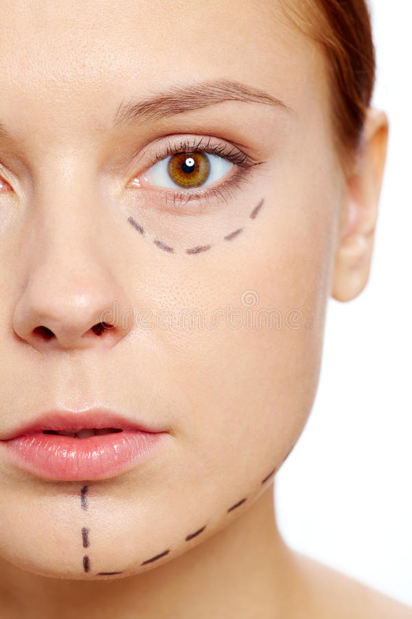 Download Before botox stock photo. Image of lifestyle, face, glamor - 25939736