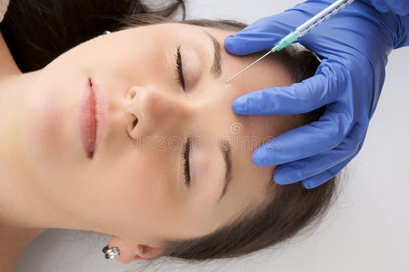 Botox imagem de stock