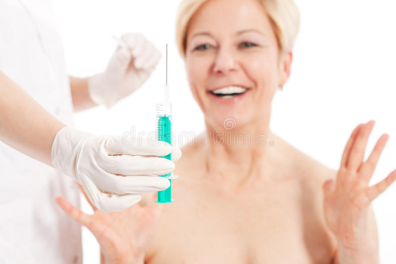 Download Botox - Age and beauty stock image. Image of doctor, needle - 20033369