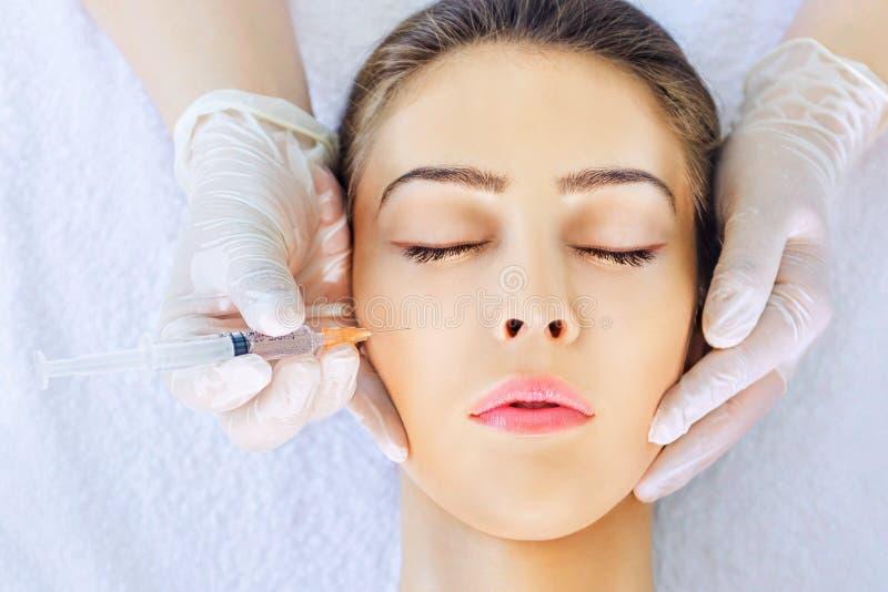 Botox behandling arkivbilder