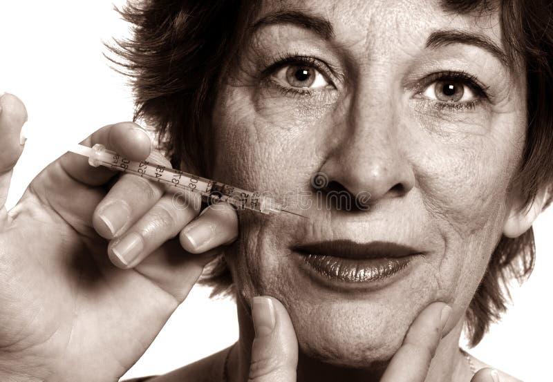 Botox Treatment Royalty Free Stock Photos