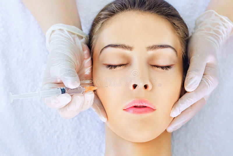 Download Botox treatment stock photo. Image of cosmetologist, beauty - 32052214