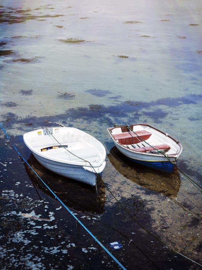 Bots στο λιμάνι του ST Ives στοκ εικόνες