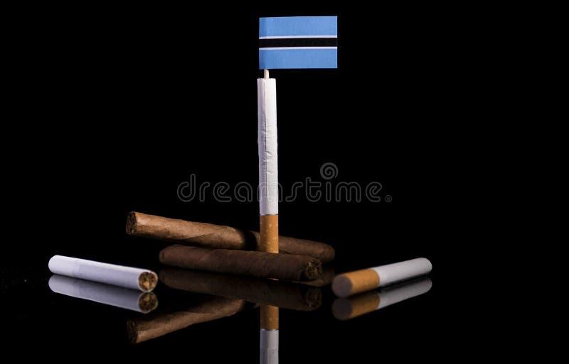 Download Botswana-Flagge Mit Zigaretten Und Zigarren Stockbild - Bild von auslegung, zigarren: 96935249