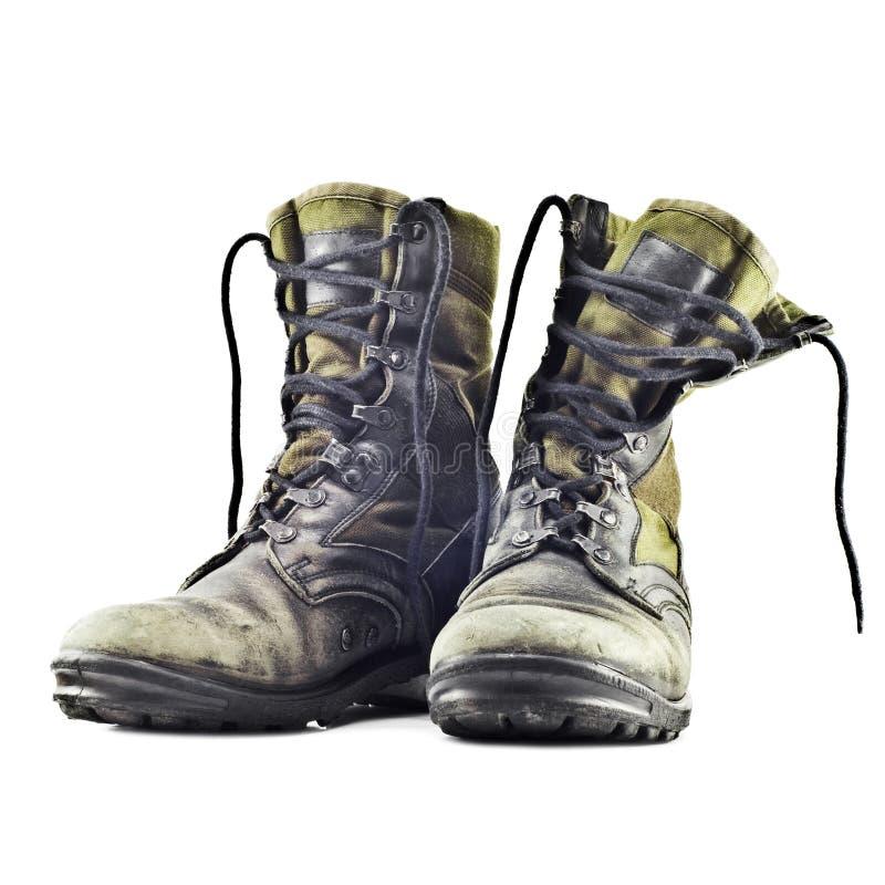 Bottes d'armée image libre de droits