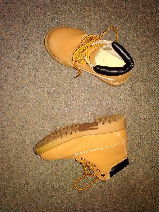 Les bottes pour enfants photos stock