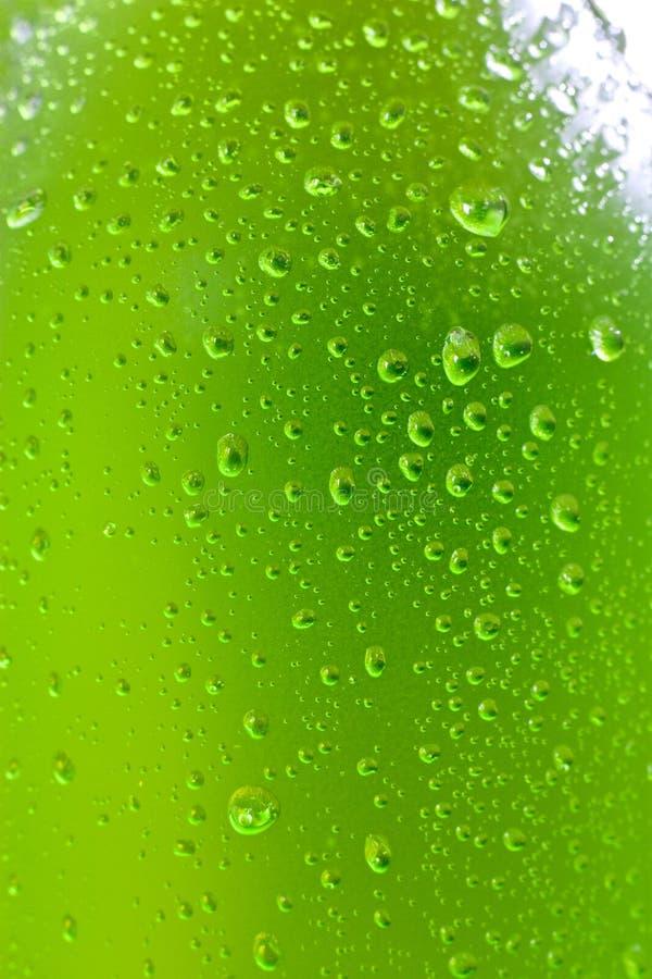 Bottiglia bagnata immagini stock libere da diritti