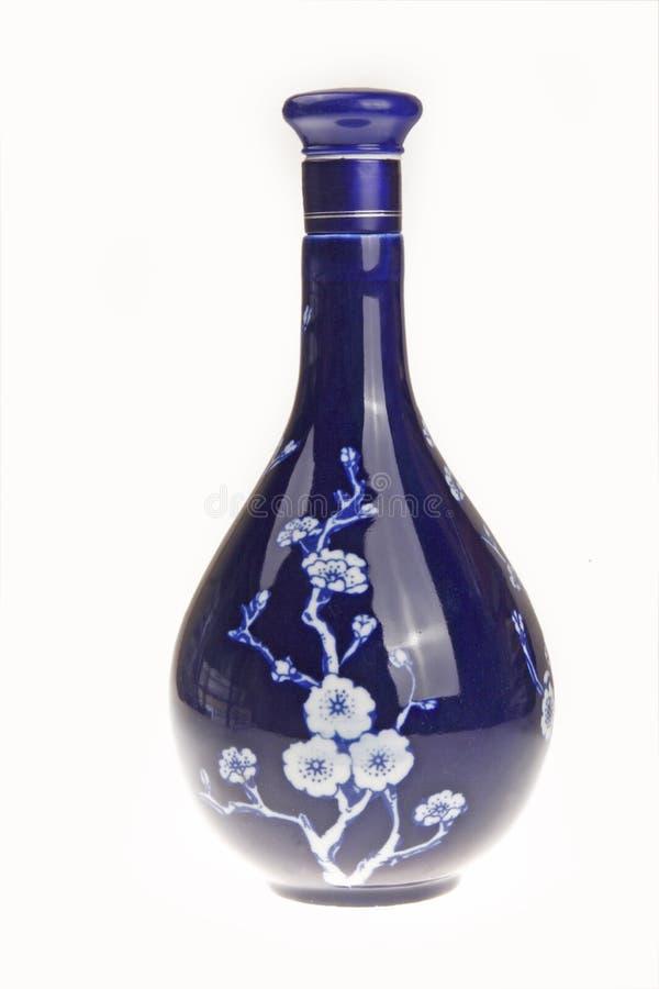 Bottiglia cinese della porcellana immagine stock libera da diritti