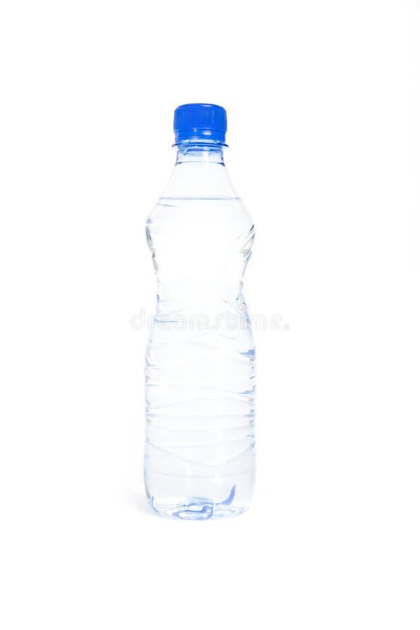 Bottiglia con acqua immagine stock