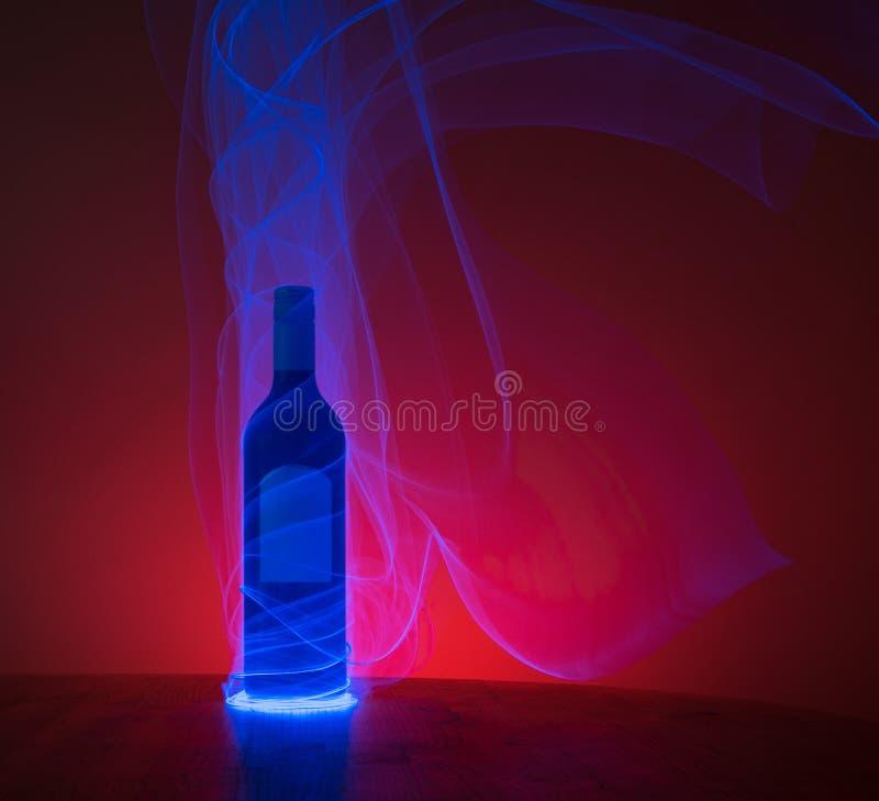 Bottiglia d'ardore fotografia stock libera da diritti