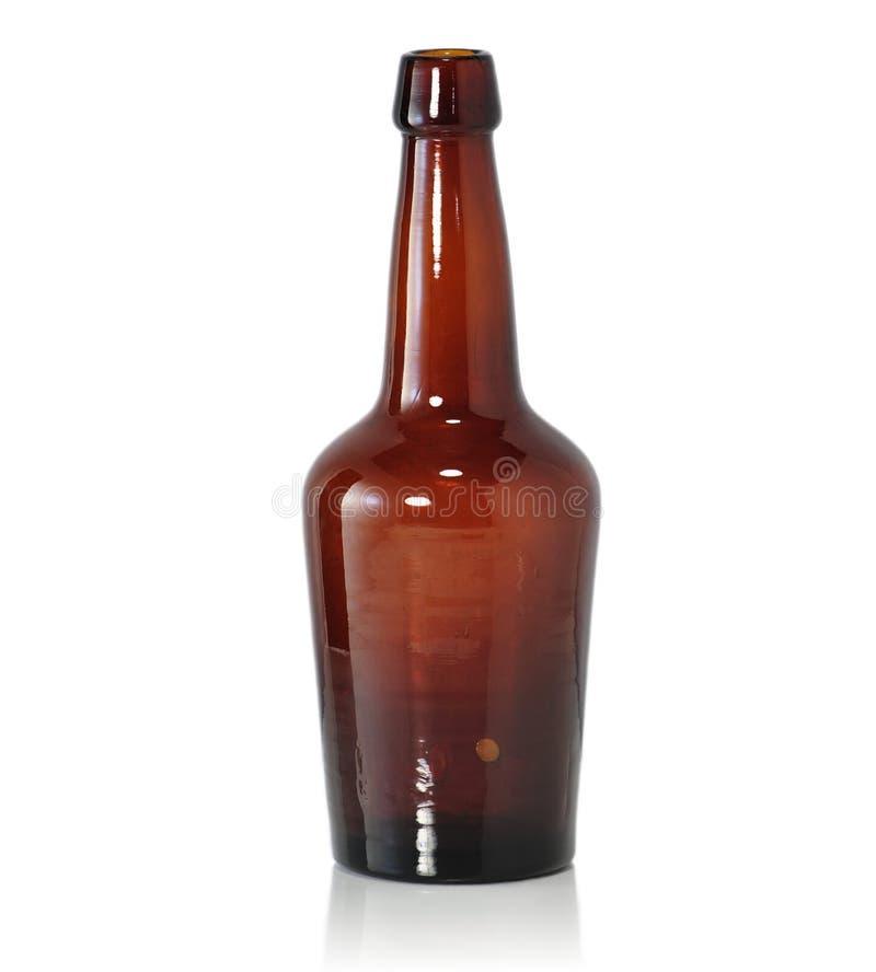 Bottiglia da birra dell'annata immagini stock