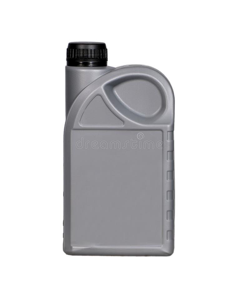 Bottiglia dei lubrificanti fotografie stock