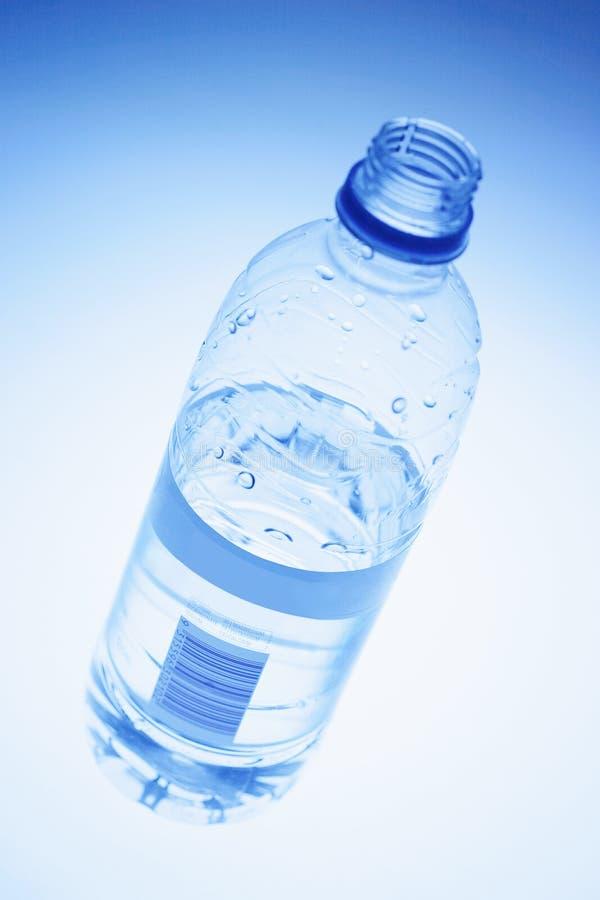 Bottiglia dell'acqua di fonte immagini stock libere da diritti