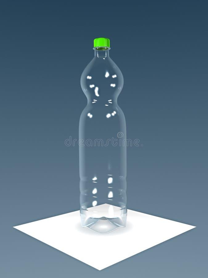 Bottiglia dell'ANIMALE DOMESTICO illustrazione vettoriale