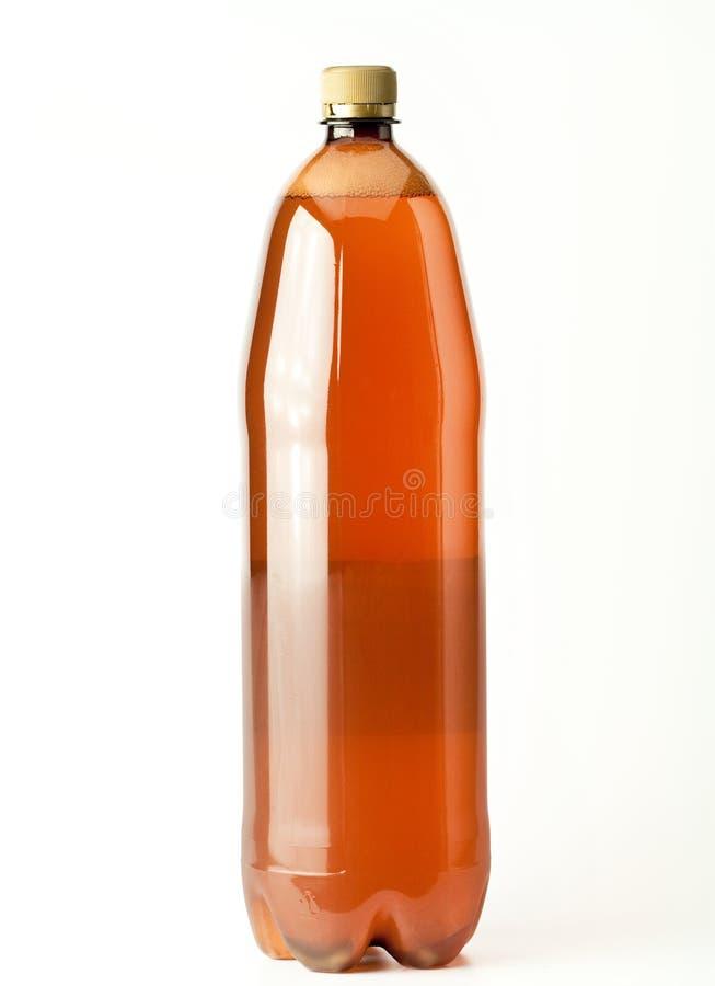 Bottiglia dell'ANIMALE DOMESTICO fotografie stock