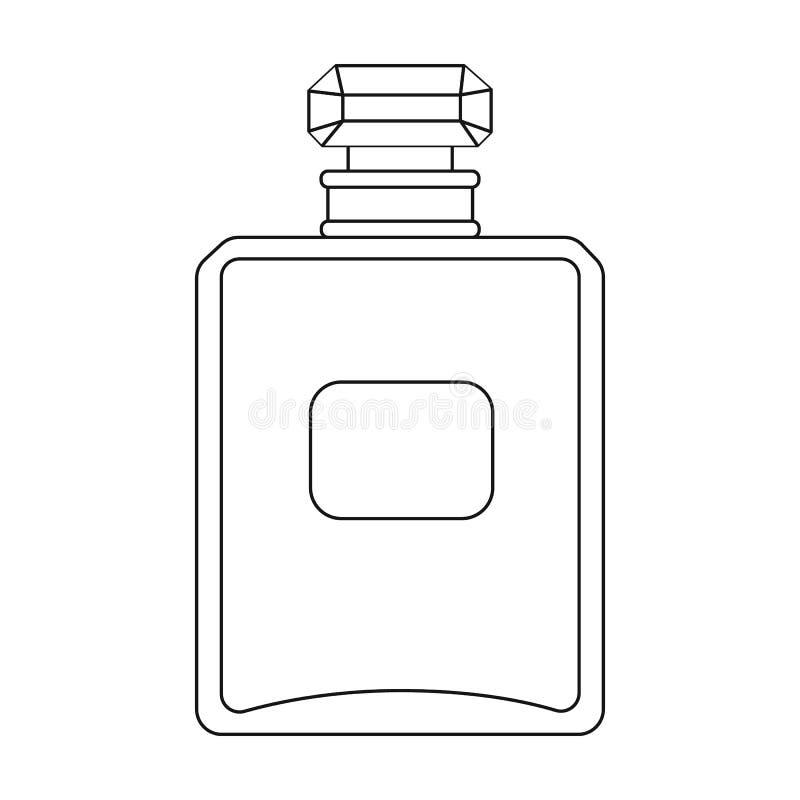 Bottiglia dell 39 icona francese del profumo nello stile del for Bottiglia in francese