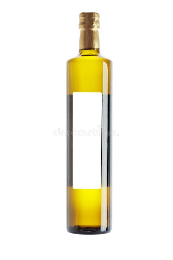 Bottiglia dell'olio di oliva fotografia stock