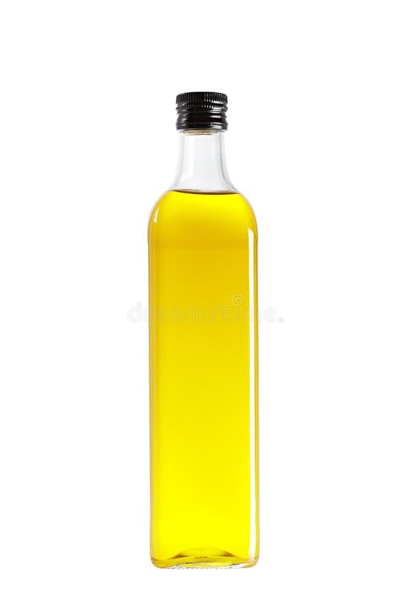 Bottiglia dell'olio di oliva immagini stock