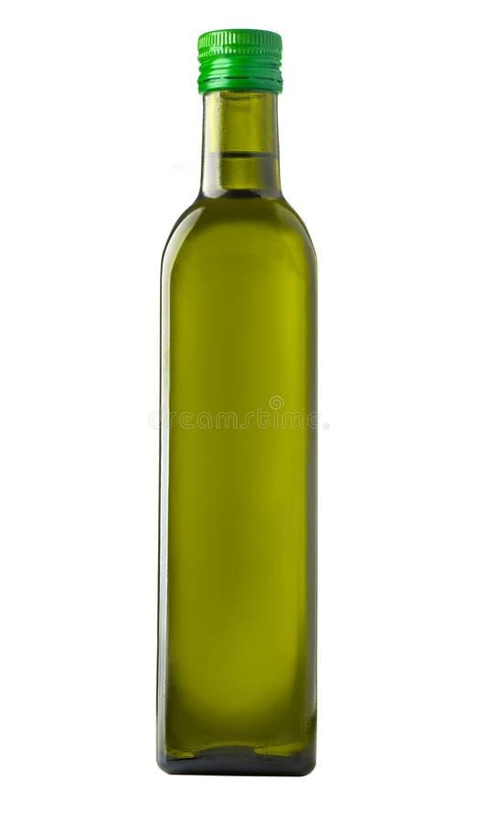 Bottiglia dell'oliva dell'olio fotografie stock libere da diritti