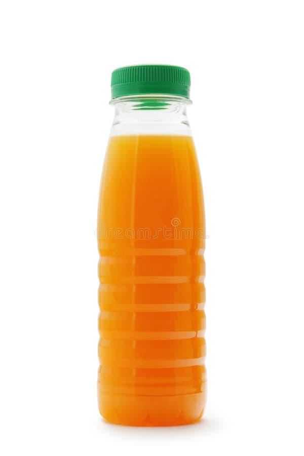 Bottiglia della spremuta fotografia stock