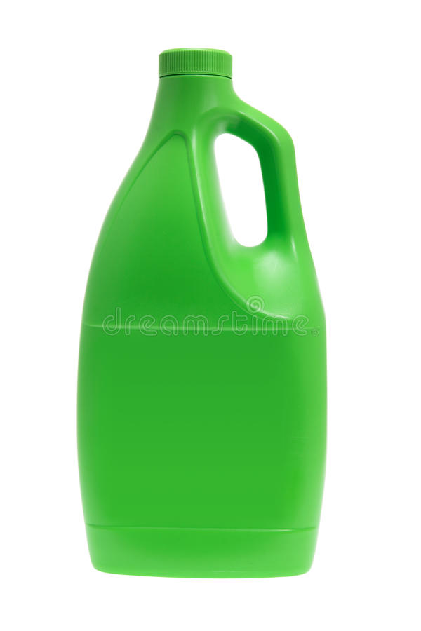 Bottiglia detersiva di plastica fotografie stock