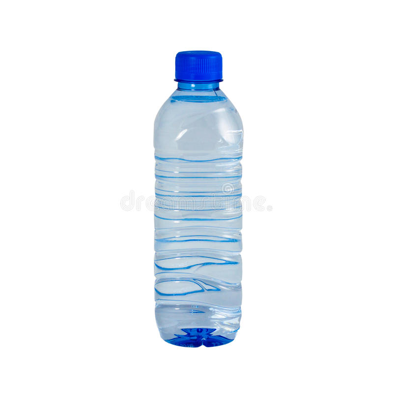 Bottiglia di acqua fotografia stock