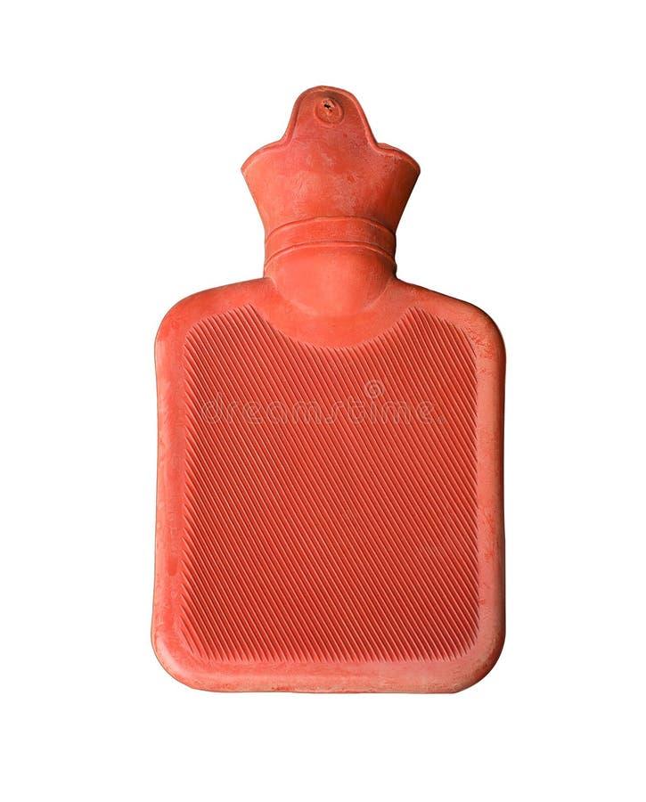 Bottiglia di acqua calda immagini stock libere da diritti