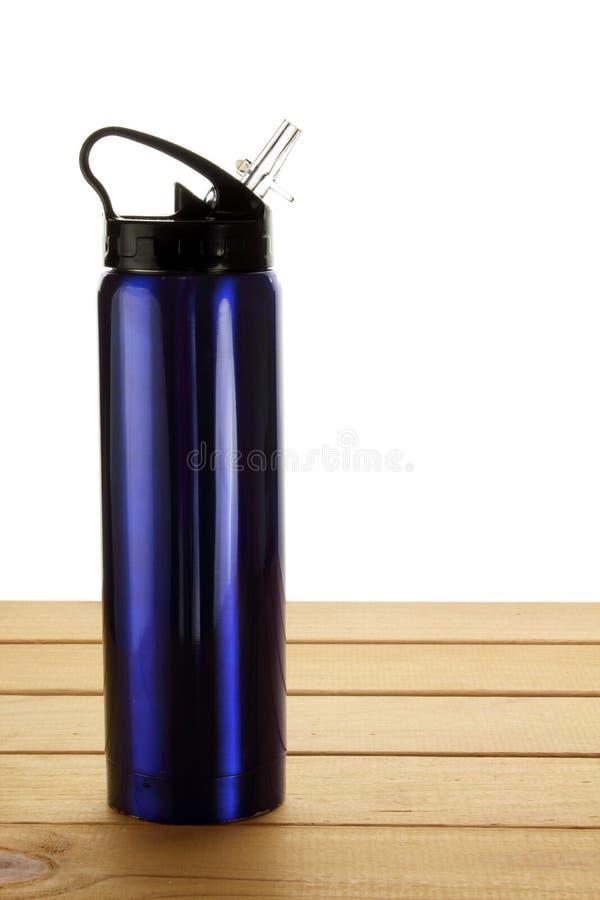Bottiglia di acqua calda immagine stock libera da diritti