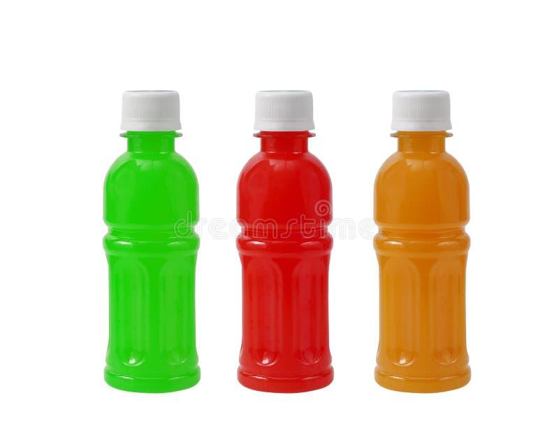 Bottiglia di acqua dolce isolata su fondo bianco immagini stock libere da diritti