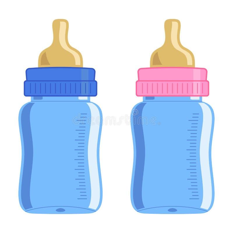 Bottiglia di bambino illustrazione vettoriale