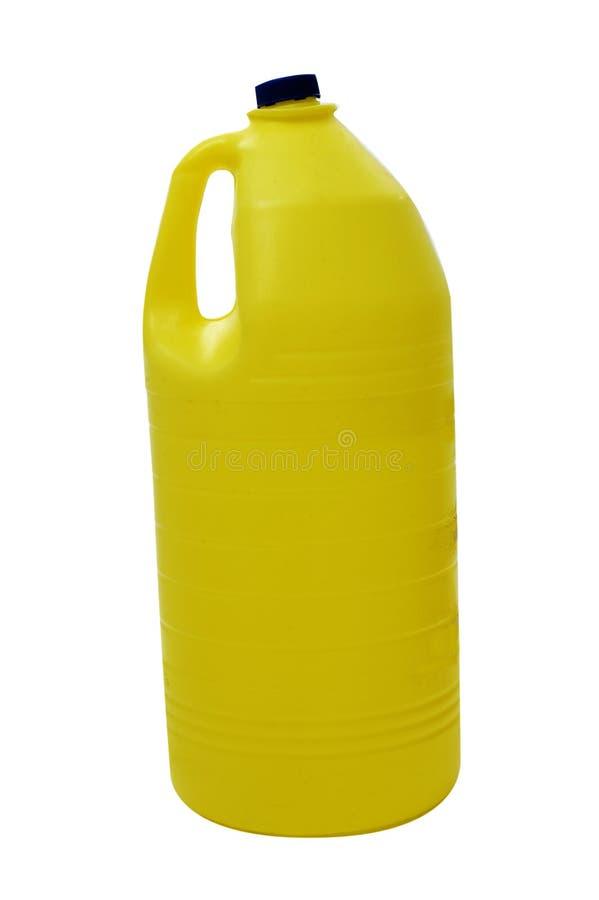 Bottiglia di candeggiante immagini stock