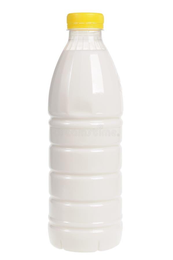 Bottiglia di latte fotografia stock libera da diritti