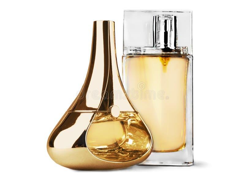 Download Bottiglia Di Modo Di Profumo Isolata Su Bianco Fotografia Stock - Immagine di fragranza, alto: 117977880