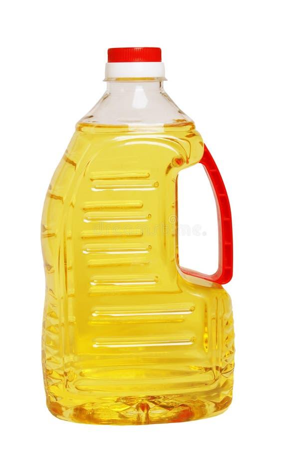 Bottiglia di olio fotografia stock
