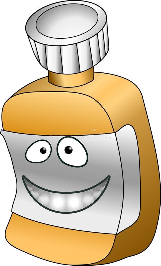 Download Bottiglia di pillola illustrazione vettoriale. Illustrazione di caricature - 3139490