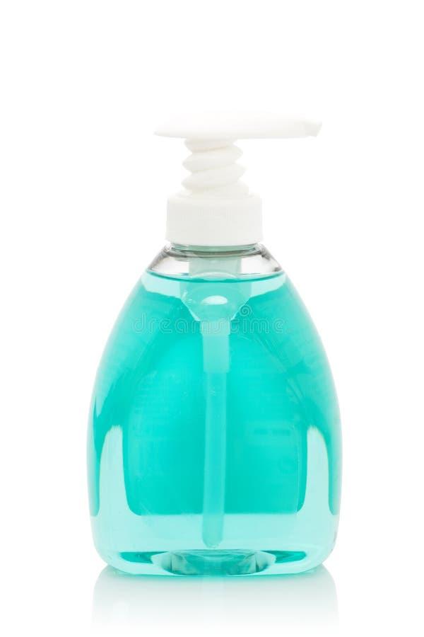 Bottiglia di plastica della pompa fotografia stock libera da diritti