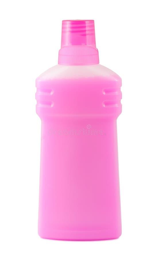 Bottiglia di plastica dentellare fotografia stock libera da diritti