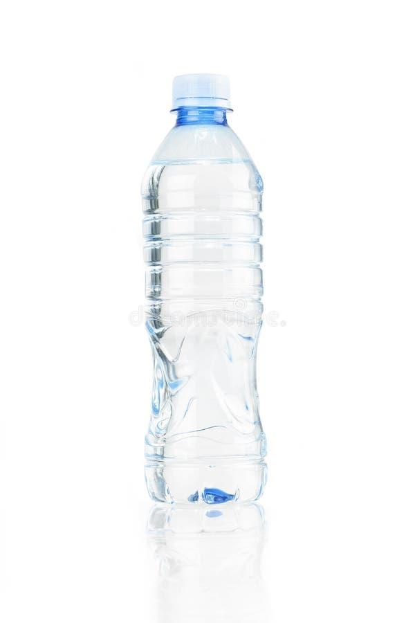 Bottiglia di plastica isolata immagine stock