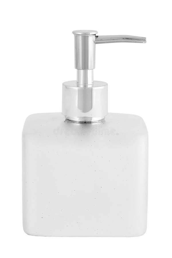 Bottiglia di sapone liquido   fotografia stock libera da diritti