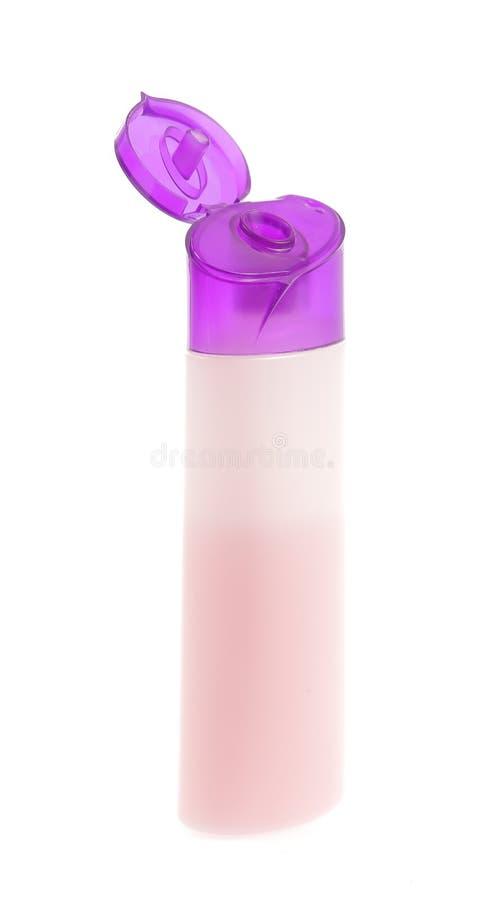 Bottiglia di sciampo fotografia stock libera da diritti