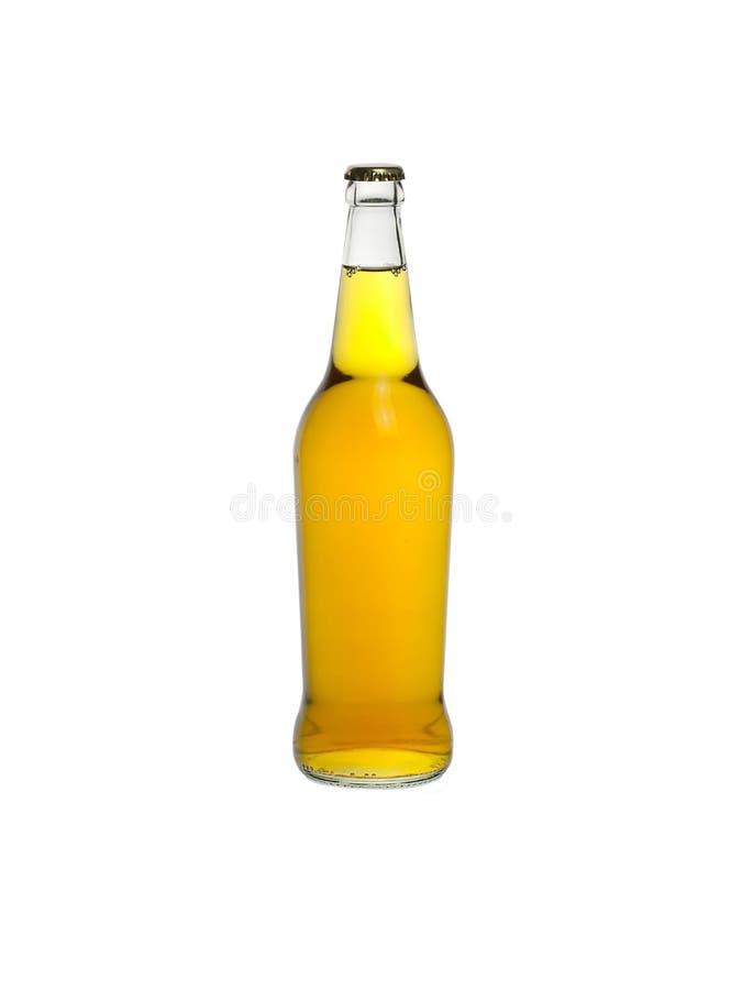 Bottiglia di sidro isolata fotografie stock libere da diritti
