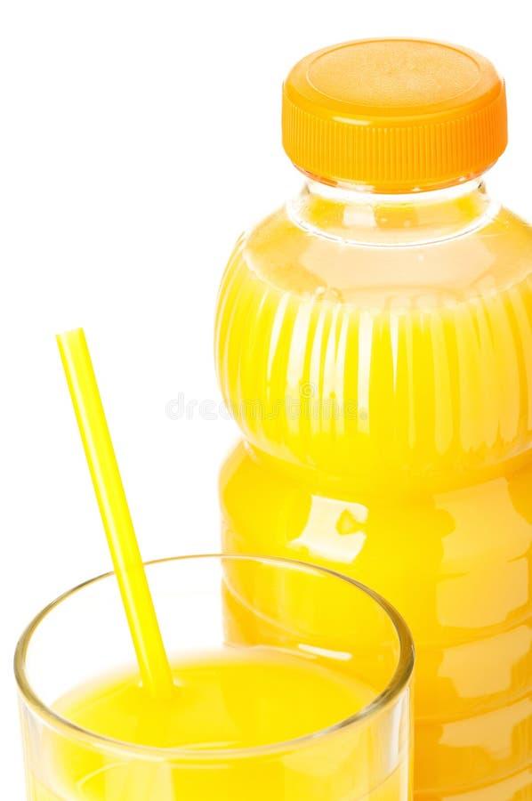 Bottiglia di spremuta immagini stock libere da diritti