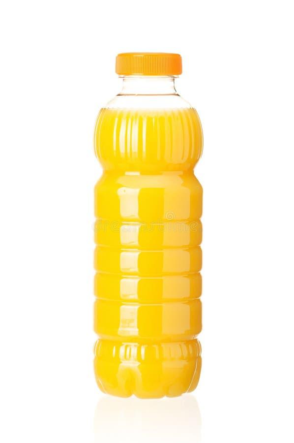 Bottiglia di spremuta fotografie stock