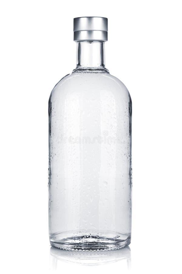 Bottiglia di vodka russa immagini stock libere da diritti