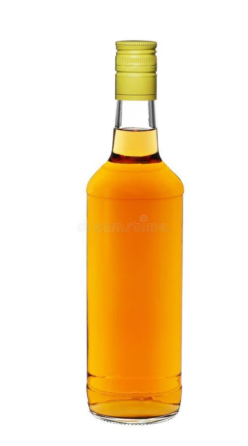 Bottiglia di whisky fotografie stock libere da diritti
